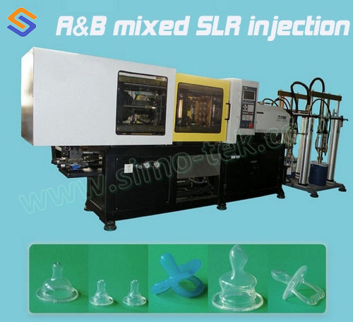 Horizontal LSR Injection Molding