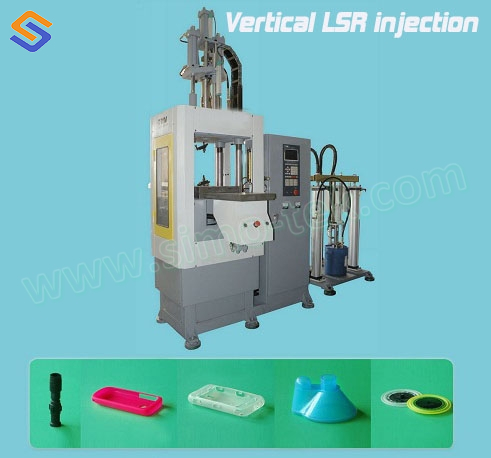 Vertical LSR-Injection Molding