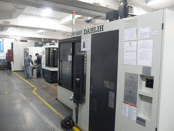 High speed CNC workshop