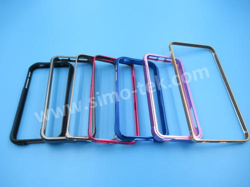 CNC aluminum Iphone bumpers